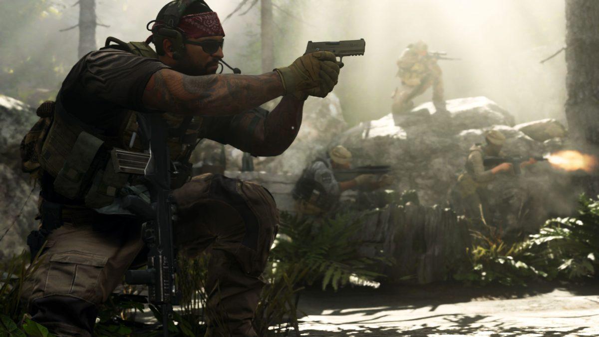Call of Duty: Modern Warfare Split Screen