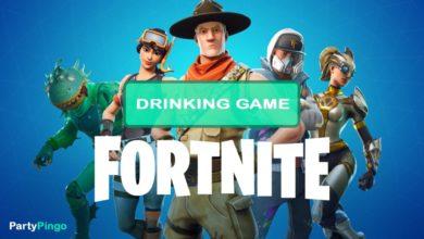 Fortnite Drinking Game