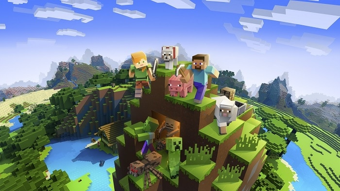 Minecraft Best PS4 Games for Kids