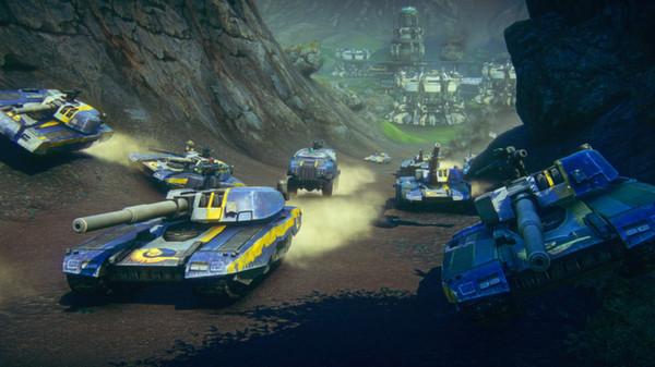PlanetSide 2 Vehicles