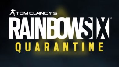 Rainbow Six Siege Quarantine