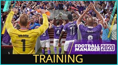 Football Manager 2020 Training