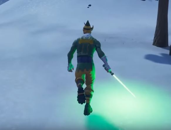 Find Star Wars Lightsaber in Fortnite
