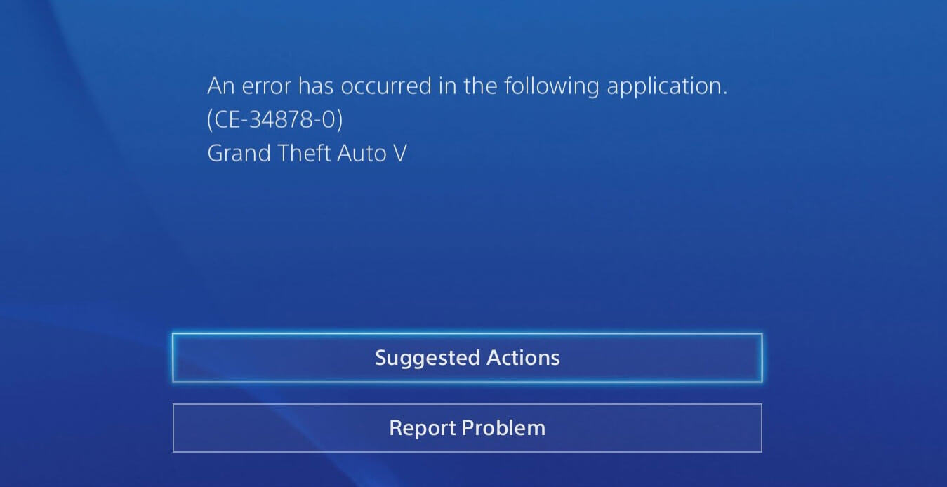 Error Ce 34878 0 Fix This On Your Ps4 And Get Back On The Game