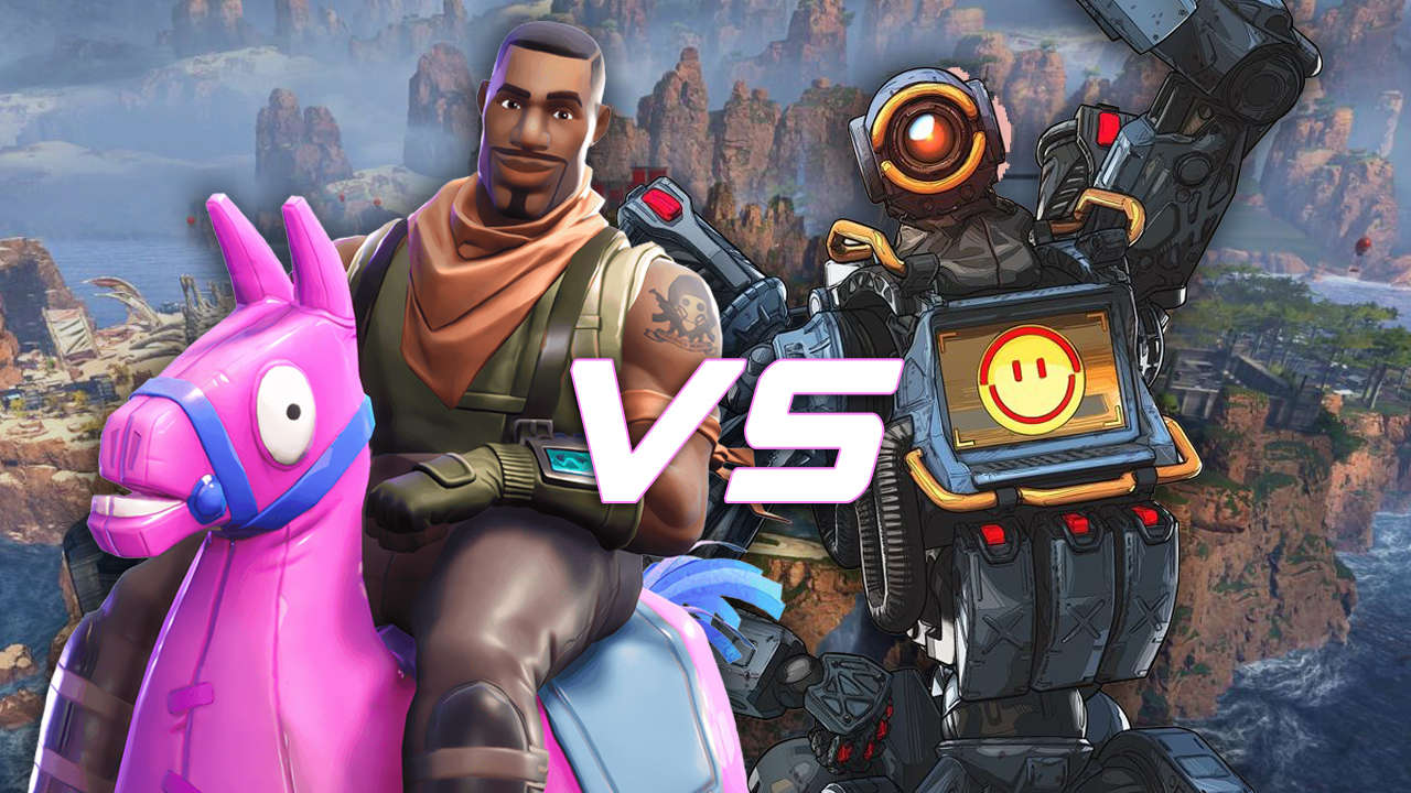 Fortnite vs Apex Legends