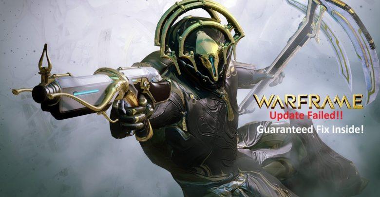 Warframe Update Failed Error