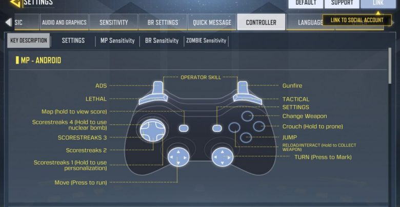 Call of Duty Mobile Controller