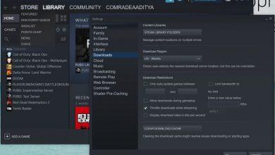Slow Download Speed on Steam