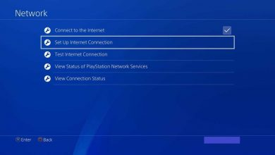 Change DNS on PS4