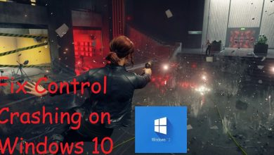 Control Lagging Windows 10