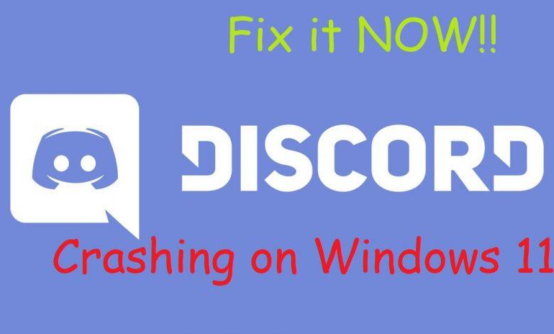 Discord Crashing Windows 11