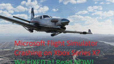 Flight Simulator Crashing Xbox