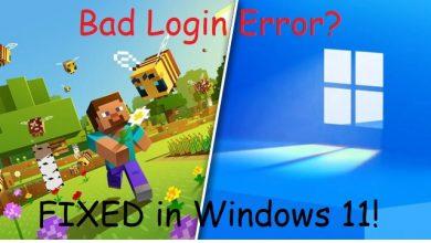 Minecraft Bad Login Error